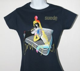 Ladies Navy Coming Up T Shirt With 2011 Tour Date Back Print